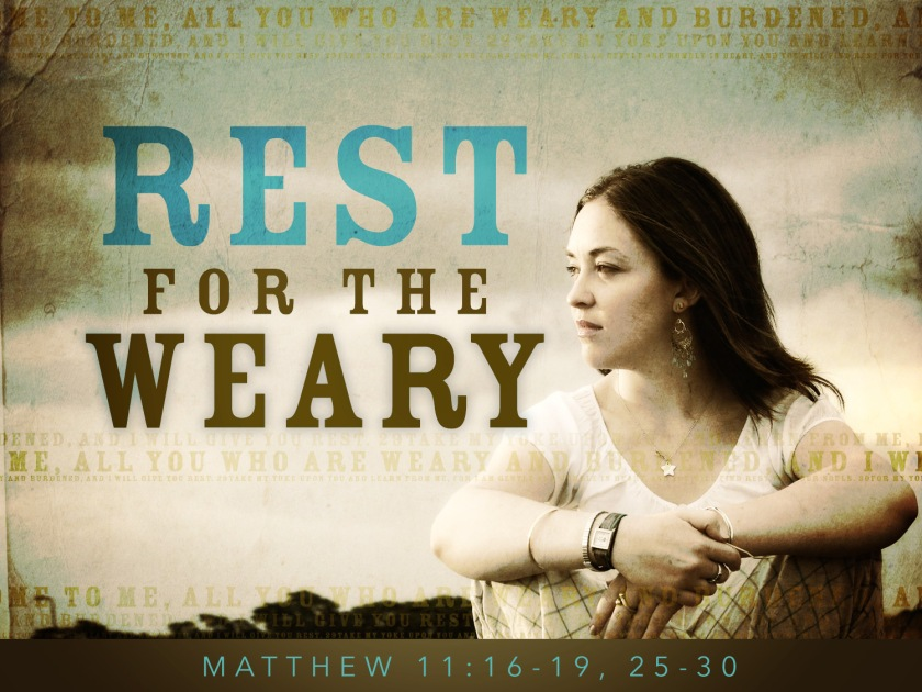 rest for the weary_t