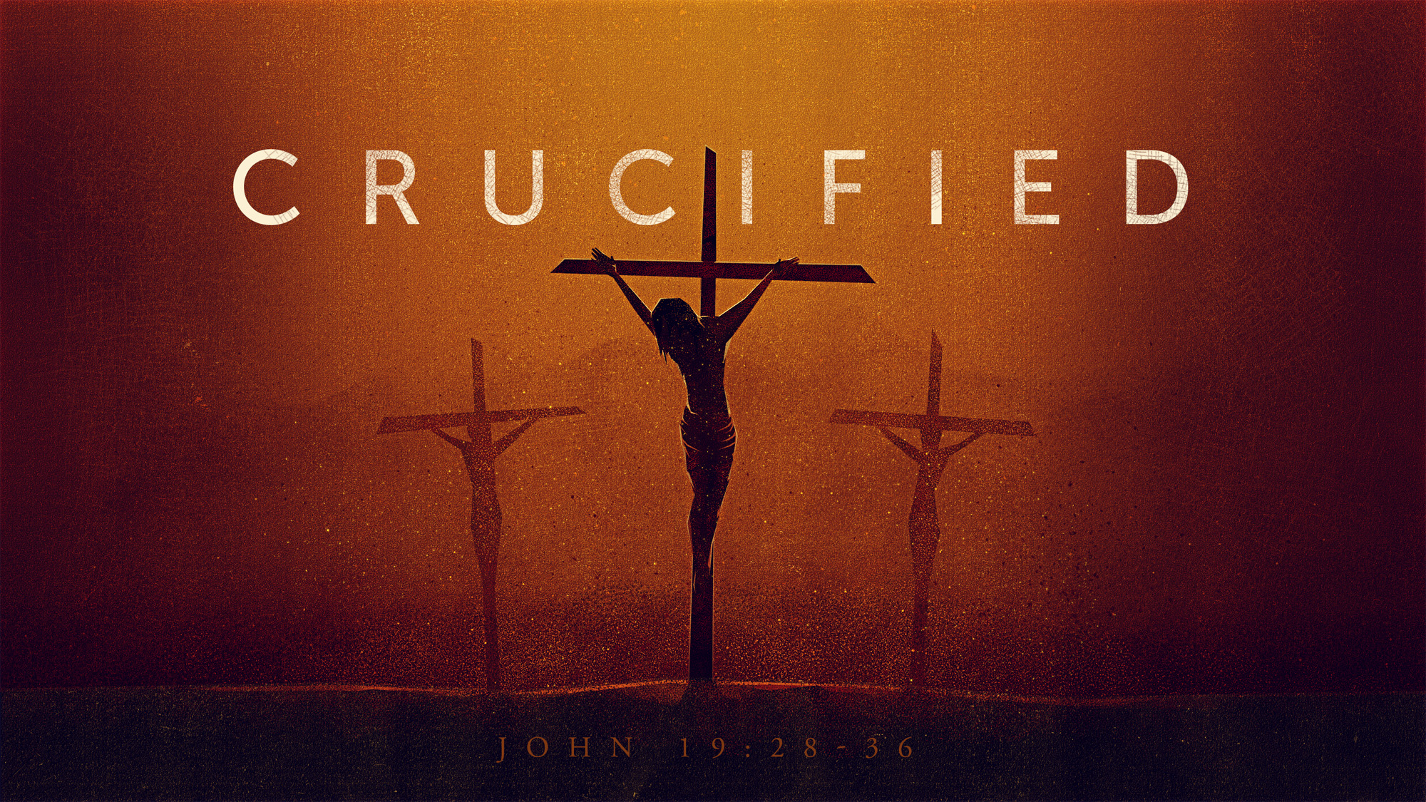 crucified walter bright
